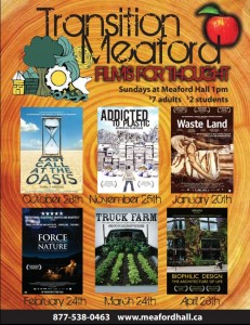 Films for Thought environmental movie series in Meaford